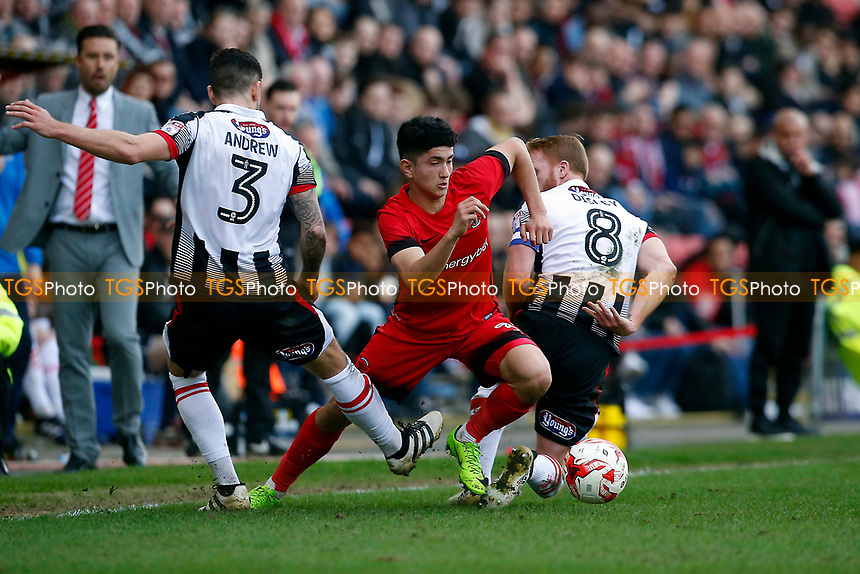Steven Alzate during Leyton Orient vs Grimsby Town, Sky Bet EFL League 2 Football at the Matchroom Stadium on 11th March 2017