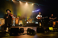 MIAMI BEACH, FL - MAY 18: Charity Rose Thielen, Chris Zasche, Tyler Williams, Jonathan Russell and Matt Gervais of The Head And The Heart performs at the Fillmore on May 18, 2017 in Miami Beach, Florida. Credit MPI04r/MediaPunch © 2017
