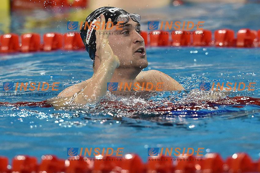 ORSI Marco ITA Silver Medal Men's 50m Freestyle <br /> Doha Qatar 05-12-2014 Hamad Aquatic Centre, 12th FINA World Swimming Championships (25m). Nuoto Campionati mondiali di nuoto in vasca corta.<br /> Photo Andrea Staccioli/Deepbluemedia/Insidefoto