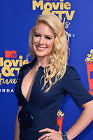 SANTA MONICA, USA. June 16, 2019: Heidi Montag at the 2019 MTV Movie & TV Awards at Barker Hangar, Santa Monica.<br /> Picture: Paul Smith/Featureflash