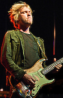 Kenny Wayne Shepherd Band playing at the 2011 Blues and BBQ Festival in New Orleans, LA.