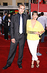 """Actor Billy Marquart and actress Fernada Romero arrive at the Premiere Of Fox's """"What Happens In Vegas"""" on May 1, 2008 at the Mann Village Theatre in Los Angeles, California."""