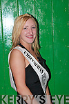 BEAUTIFUL: Kathy OConnell (Galvins shop), winner of the Cailin Alainn Festival in Lixnaw on Sunday night..