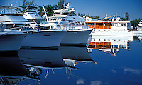 Fort Lauderdale, Florida, Water Reflections, Motor Boating, Power Yachts,
