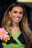 "Melody Thornton<br /> arriving for the ""Captain Marvel"" European premiere at the Curzon Mayfair, London<br /> <br /> ©Ash Knotek  D3484  27/02/2019"