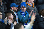 Ross County v St Johnstone&hellip;18.02.17     SPFL    Global Energy Stadium, Dingwall<br />The travelling saints fan applaud Chris Kane&rsquo;s goal<br />Picture by Graeme Hart.<br />Copyright Perthshire Picture Agency<br />Tel: 01738 623350  Mobile: 07990 594431