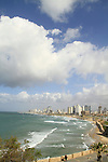 Israel, a view of Tel Aviv from Old Jaffa