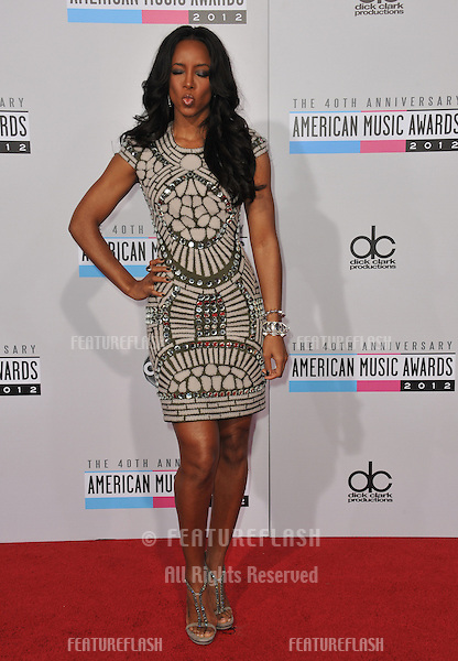 Kelly Rowland at the 40th Anniversary American Music Awards at the Nokia Theatre LA Live..November 18, 2012  Los Angeles, CA.Picture: Paul Smith / Featureflash
