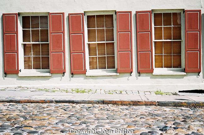 Cobblestone street photo in charleston sc earthscapes for Cobblestone shutters