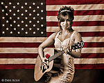 Nikki Briar, singer songwriter, for the CD/Album A Soldiers Princess. This image was conceived, styled, and photographed by Dave Rossi. nicole martinez, nikki briar, soldiers princess; album; cover;