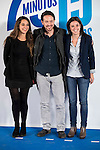 "Noelia Vera, Pablo Iglesias and Irene Montero during the main event of the XV Aniversary of the ""20Minutos"" newspaper at Headquarters of the Community of Madrid, November 24, 2015<br /> (ALTERPHOTOS/BorjaB.Hojas)"