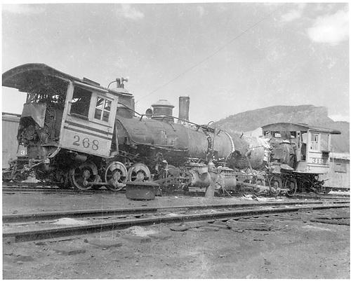 Movie train wreck.<br /> D&amp;RG  Durango, CO