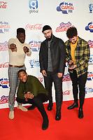 Rak-Su<br /> at Capital's Jingle Bell Ball 2018 with Coca-Cola, O2 Arena, London<br /> <br /> ©Ash Knotek  D3465  08/12/2018