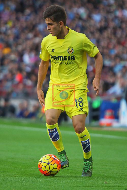 League BBVA 2015/2016 - Game: 11.<br /> FC Barcelona vs Villarreal CF: 3-0.<br /> Denis Suarez.