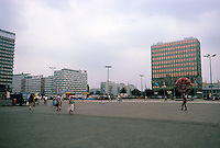 East Berlin: Alexanderplatz--looking southeast. Photo '87.