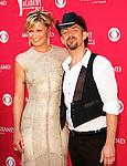 Sugarland - Jennifer Nettles and Kristian Bush at the 2008 ACM Awards at MGM Grand in Las Vegas, May 18 2008.