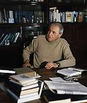 Советский писатель Валентин Катаев (1897-1986. / Soviet writer Valentin Kataev (1897-1986).