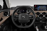Car pictures of steering wheel view of a 2019 Ds DS-3-Crossback Grand-Chic 5 Door SUV Steering Wheel