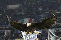 Olimpia eagle symbol of Lazio<br /> Roma 07-12-2019 Stadio Olimpico <br /> Football Serie A 2019/2020 <br /> SS Lazio - Juventus FC<br /> Photo Cesare Purini / Insidefoto