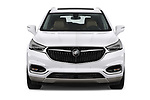 Car photography straight front view of a 2018 Buick Enclave Premium 5 Door SUV