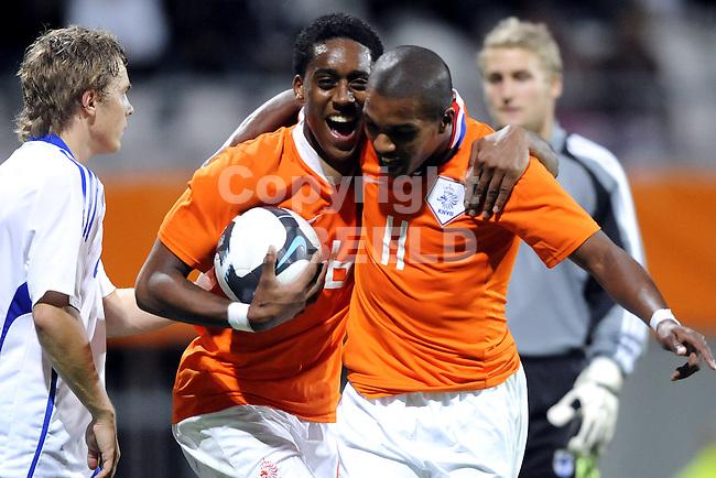 voetbal jong oranje - jong finland ek kwalificatie 04-09-2009
