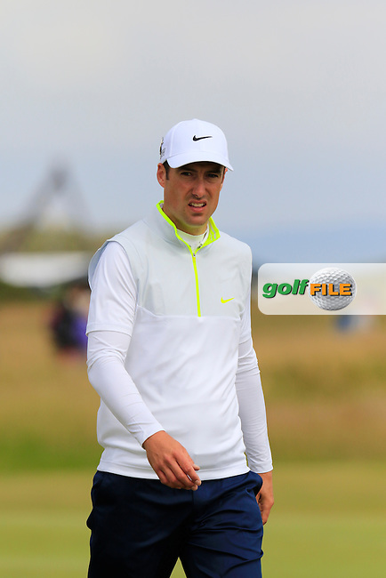 Ross FISHER (ENG) on the 16th hole during Monday's Final Round of the 144th Open Championship, St Andrews Old Course, St Andrews, Fife, Scotland. 20/07/2015.<br /> Picture Eoin Clarke, www.golffile.ie