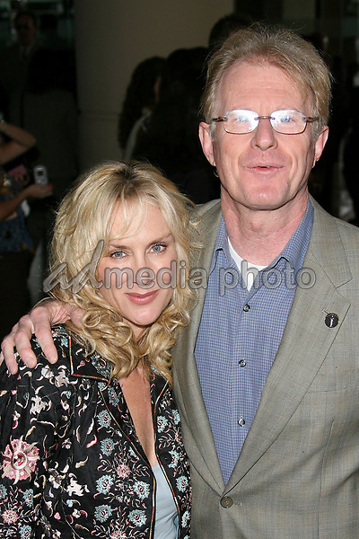 13 February 2006 - Beverly Hills, California - Ed Begley Jr. and Rachelle Carson. 78th Annual Academy Award Nominees' Luncheon - Arrivals held at the Beverly Hilton Hotel.  Photo Credit: Zach Lipp/AdMedia