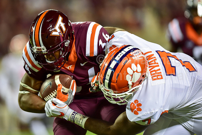 Ncaa Football Clemson Vs Virginia Tech Media Images