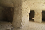 Israel, Negev, Borot Hazaz, a Nabatean cistern in Wadi Hazaz