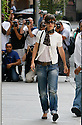 NEW YORK - AUGUST 05:  Actress Katie Holmes seen on the streets of Manhattan on August 5, 2008 in New York City.  (Photo by Soul Brother/FilmMagic)