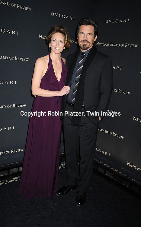 Diane Lane and husband Josh Brolin ..at The 2008 National Board of Review of Motion Pictures Awards Gala on January 14, 2009 at Cipriani's 42nd Street in New York City.  The event was sponsored by Bulgari. ....Robin Platzer, Twin Images