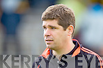 Eamon Fitzmaurice Kerry Manager in the first round of the Munster Football Championship at Fitzgerald Stadium on Sunday.