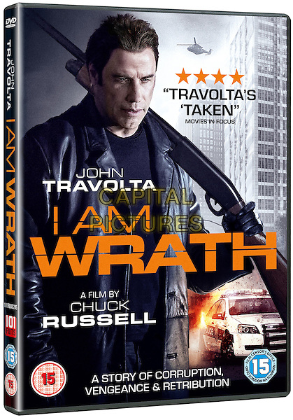 I Am Wrath (2016) <br /> DVD COVER ART<br /> *Filmstill - Editorial Use Only*<br /> CAP/KFS<br /> Image supplied by Capital Pictures