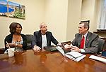 The Creative Coalition meet with Senator Jeff Merkley (D-OR)  Washington, D.C.
