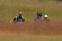 Nicolas Colsaerts (BEL) on the 1st during Round 4 of the Aberdeen Standard Investments Scottish Open 2019 at The Renaissance Club, North Berwick, Scotland on Sunday 14th July 2019.<br /> Picture:  Thos Caffrey / Golffile<br /> <br /> All photos usage must carry mandatory copyright credit (© Golffile | Thos Caffrey)