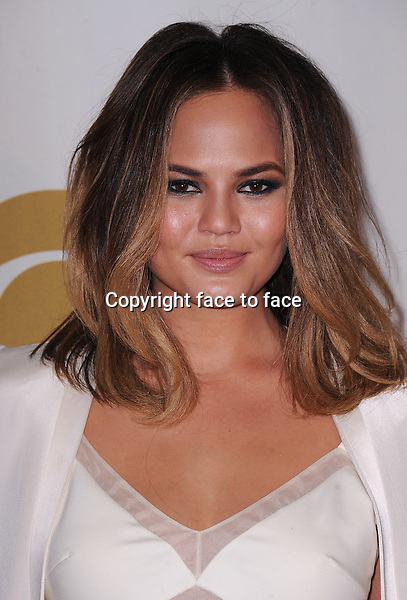 LOS ANGELES, CA - JANUARY 27:  Chrissy Teigen arrives at &quot;The Night That Changed America: A Grammy Salute to The Beatles&quot; at the Los Angeles Convention Center West Hall on January 27, 2014 in Los Angeles, California. <br /> Credit: MediaPunch/face to face<br /> - Germany, Austria, Switzerland, Eastern Europe, Australia, UK, USA, Taiwan, Singapore, China, Malaysia, Thailand, Sweden, Estonia, Latvia and Lithuania rights only -