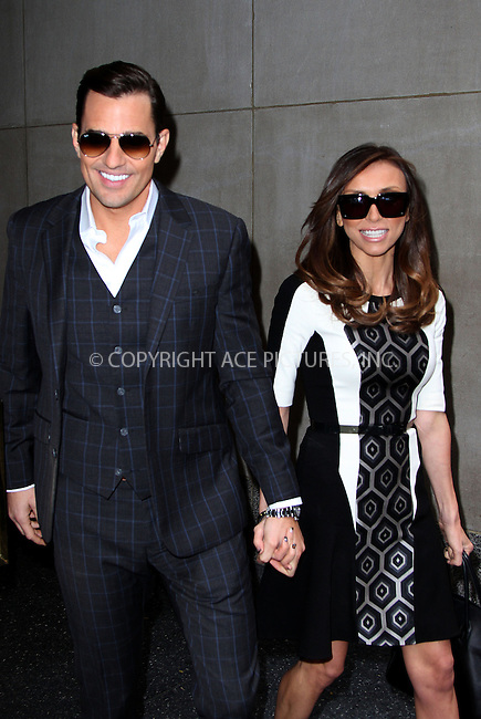 WWW.ACEPIXS.COM....November 20 2012, New York City....Giuliana and Bill Rancic leave a TV studio on November 20 2012 in New York City....By Line: Zelig Shaul/ACE Pictures......ACE Pictures, Inc...tel: 646 769 0430..Email: info@acepixs.com..www.acepixs.com