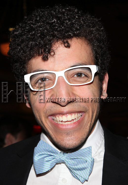 Heath Saunders.attending the reception for the final performance of the New York City Center ENCORES! Production of 'Gentlemen Prefers Blondes' at City Center in New York City on 5/13/2012.