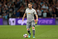 Luke Shaw of Manchester United during West Ham United vs Manchester United, Premier League Football at The London Stadium on 10th May 2018