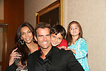 Cameron Mathison & wife Vanessa - son Lucas - daughter Leila attend All My Children Fan Luncheon on September 13, 2009 at the New York Helmsley Hotel, NYC, NY. (Photo by Sue Coflin/Max Photos)