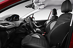 Front seat view of 2016 Peugeot 2008 Allure 5 Door SUV Front Seat  car photos