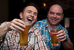Eddie Mulligan and Brian Armstrong, enjoying themselves in Barocco..Picture: Shane Maguire / www.newsfile.ie.