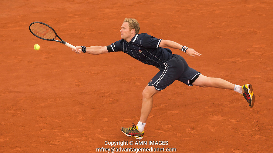 DMITRY TURSUNOV (RUS)<br /> <br /> Tennis - French Open 2014 -  Toland Garros - Paris -  ATP-WTA - ITF - 2014  - France <br /> 30th June 2014. <br /> <br /> &copy; AMN IMAGES