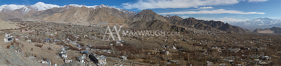 The city of Leh is the capital of Ladakh.