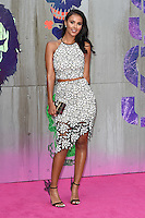 "Mya Jama<br /> arrives for the ""Suicide Squad"" premiere at the Odeon Leicester Square, London.<br /> <br /> <br /> ©Ash Knotek  D3142  03/08/2016"