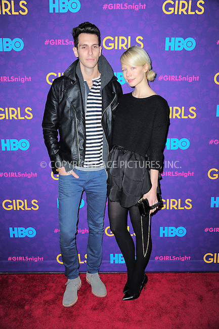 WWW.ACEPIXS.COM<br /> <br /> <br /> January 6, 2014, New York City, NY.<br /> <br /> <br /> Max Greenfield arriving at the 'Girls' Season 3 Premiere at Jazz at Lincoln Center on January 6, 2014 in NEw York City, NY.<br /> <br /> <br /> <br /> <br /> By Line:  William Bernard/ACE Pictures<br /> <br /> ACE Pictures, Inc<br /> Tel: 646 769 0430<br /> Email: info@acepixs.com