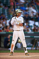 Bo Bichette (19) of Lakewood High School in Tierra Verde, Florida during the Under Armour All-American Game on August 15, 2015 at Wrigley Field in Chicago, Illinois. (Mike Janes/Four Seam Images)