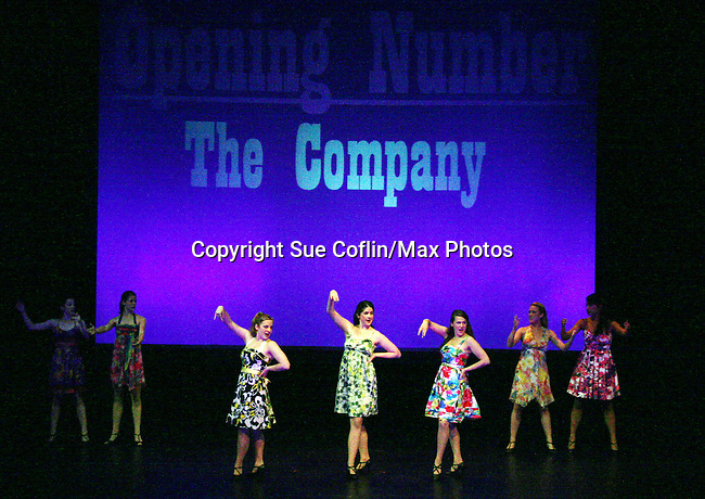 Opening Night - Opening Number for show with cast of SUMMER STOCK NYC, a celebration of the Broadway Musical on July 17, 2010 at the Michael Schimmel Center for the Arts, Pace University, NYC. (Photo by Sue Coflin/Max Photos)