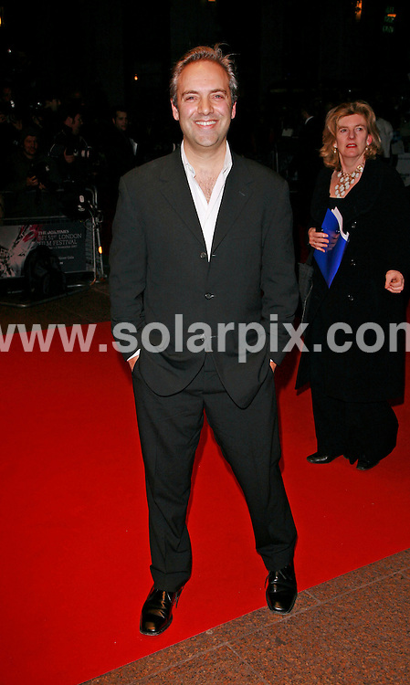**ALL ROUND PICTURES FROM SOLARPIX.COM**.*WORLDWIDE RIGHTS*.Guests attend 'Things We Lost In The Fire': American Airlines Gala,The Times BFI London Film Festival, Odeon West End, Leicester Square, 24th october 2007..This pic: Sam Mendes..JOB REF: 5168 GMT   DATE: 24_10_2007.**MUST CREDIT SOLARPIX.COM OR DOUBLE FEE WILL BE CHARGED* *UNDER NO CIRCUMSTANCES IS THIS IMAGE TO BE REPRODUCED FOR ANY ONLINE EDITION WITHOUT PRIOR PERMISSION*