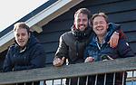 BLOEMENDAAL  - coaches Diederik van Weel, Sjoerd Wolters en Steven van Tijn  , competitiewedstrijd junioren  landelijk  Bloemendaal JB1-Kampong JB1 (4-3) . COPYRIGHT KOEN SUYK